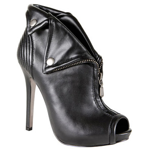 "Steve Madden ""Syrena"" in Black Leather, Stevemadden.com"
