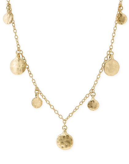 Lauren by Ralph Lauren Long Illusion Drop Necklace in Gold Long, Nordstrom.com