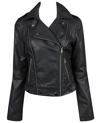 Faux-Leather jacket, Forever21.com