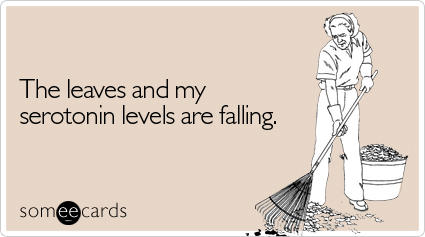 some e cards leaves falling