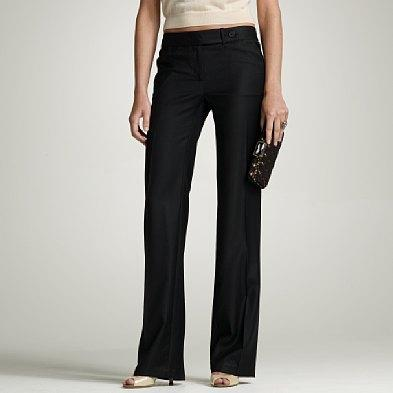 J.Crew Tall Favorite-Fit super 120's Durham Pant in Coal, Jcrew.com