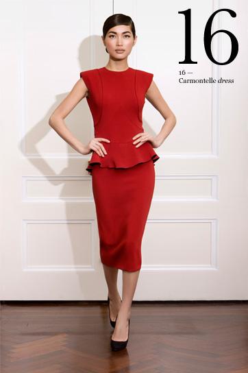 "Victoria Beckham ""Carmontelle"" dress, Victoriabeckham.com"