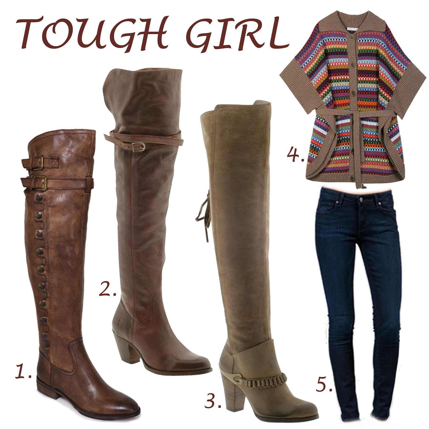 Shopzilla - Womens Brown Leather Dress Boots Women's Shoes