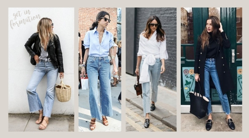 jeans and slides inspo